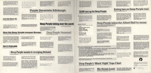 Deep Purple Who Do We Think We Are - 1st + Insert vinyl LP album (LP record) UK DEELPWH62321