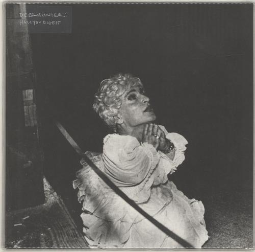 Deerhunter Halcyon Digest - 180gram White Vinyl + PVC Sleeve vinyl LP album (LP record) US D3ILPHA690868