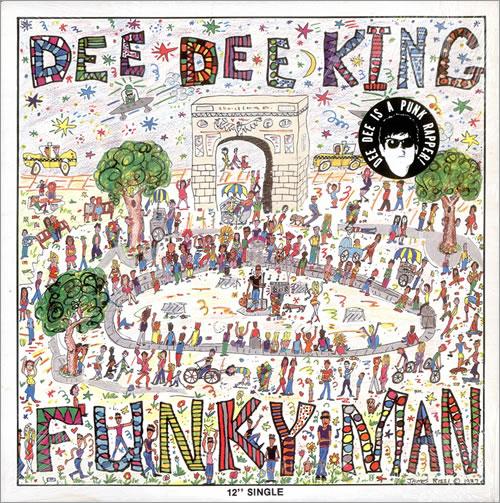 "Dee Dee Ramone Funky Man 12"" vinyl single (12 inch record / Maxi-single) US DB912FU522862"