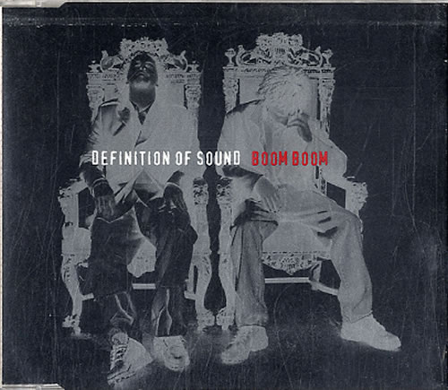 "Definition Of Sound Boom Boom CD single (CD5 / 5"") UK DFSC5BO46375"
