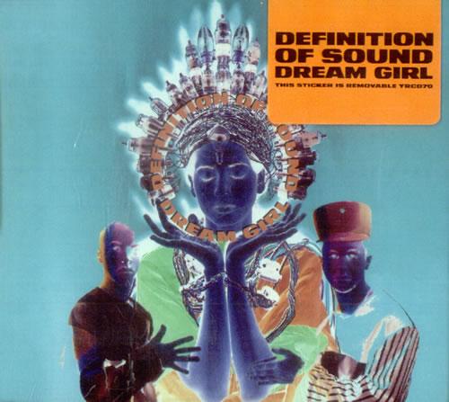 "Definition Of Sound Dream Girl CD single (CD5 / 5"") UK DFSC5DR519930"