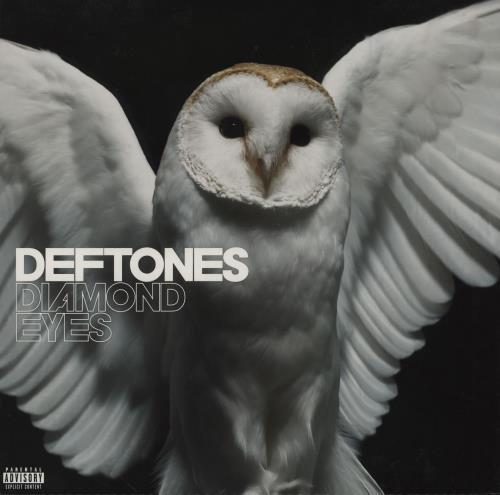 Deftones Diamond Eyes - White Vinyl vinyl LP album (LP record) UK DFTLPDI755876