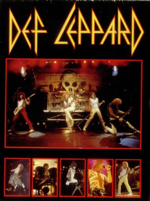 Def Leppard 1983 Tour Postergramme UK poster (544702)