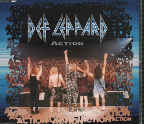 "Def Leppard Action CD single (CD5 / 5"") UK DEFC5AC34984"