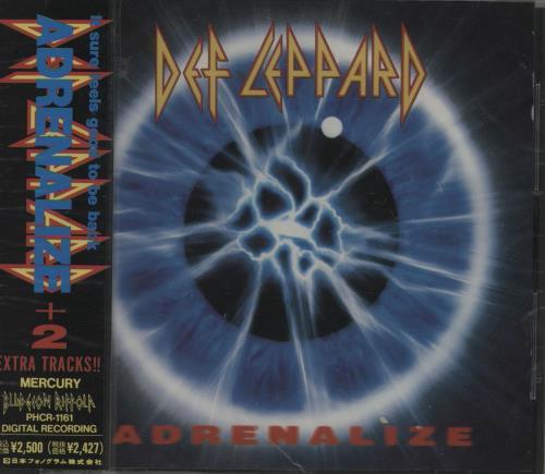 Def Leppard Adrenalize - Sealed CD album (CDLP) Japanese DEFCDAD754082