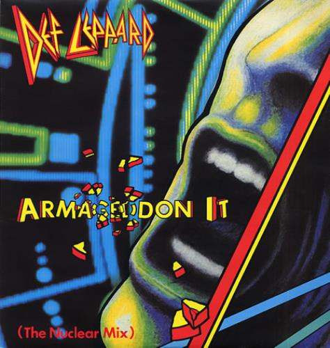 "Def Leppard Armageddon It 12"" vinyl single (12 inch record / Maxi-single) UK DEF12AR00621"