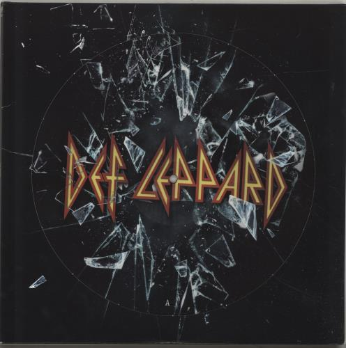 Def Leppard Def Leppard picture disc LP (vinyl picture disc album) UK DEFPDDE697886