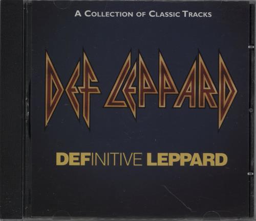 Def Leppard Definitive Leppard - Fan Club Edition CD album (CDLP) UK DEFCDDE754350