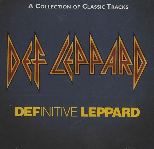 Def Leppard Definitive Leppard CD album (CDLP) Japanese DEFCDDE468688
