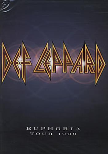 Def Leppard Euphoria Tour 1999/2000 tour programme UK DEFTREU160760