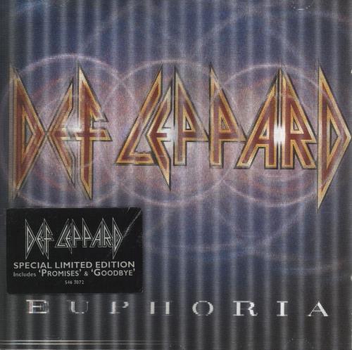 Def Leppard Euphoria CD album (CDLP) UK DEFCDEU224714