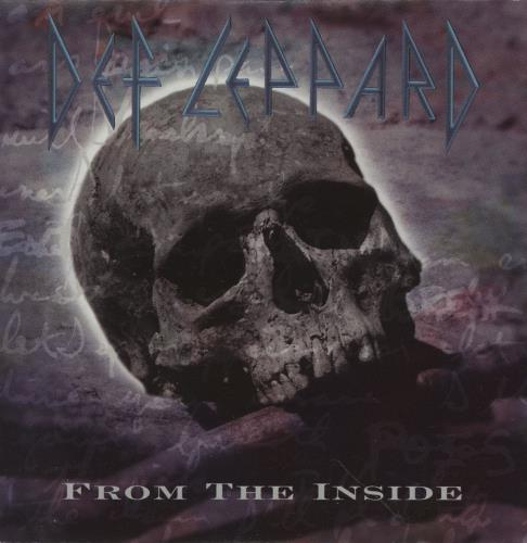 "Def Leppard From The Inside CD single (CD5 / 5"") US DEFC5FR26936"