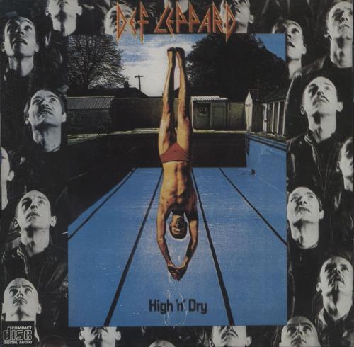 Def Leppard High 'n Dry CD album (CDLP) German DEFCDHI50372