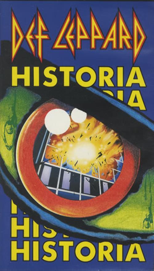 Def Leppard Historia German video (VHS or PAL or NTSC) (32095)