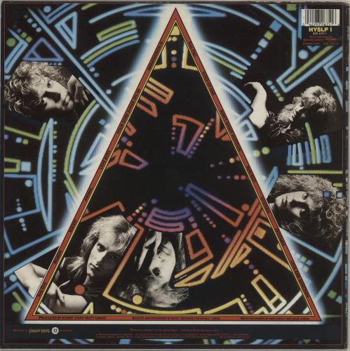 Def Leppard Hysteria - EX vinyl LP album (LP record) UK DEFLPHY751438
