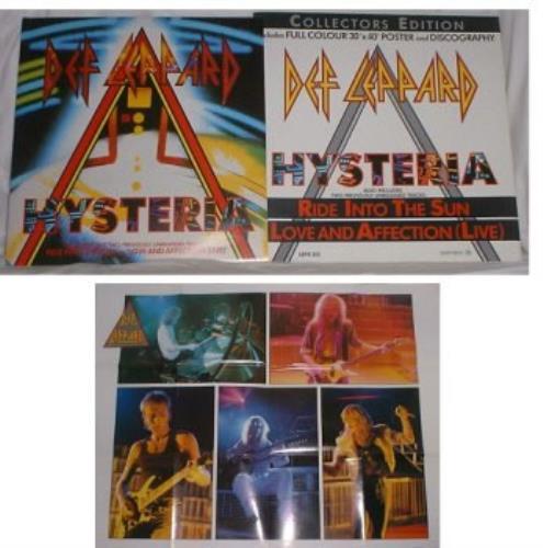 "Def Leppard Hysteria - Pack 12"" vinyl single (12 inch record / Maxi-single) UK DEF12HY15979"