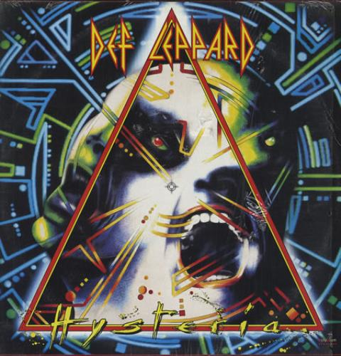 Def Leppard Hysteria vinyl LP album (LP record) Mexican DEFLPHY231226
