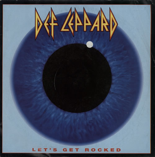 "Def Leppard Let's Get Rocked - Glossy Sleeve 7"" vinyl single (7 inch record) UK DEF07LE38841"