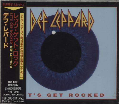 """Def Leppard Let's Get Rocked - Sealed CD single (CD5 / 5"""") Japanese DEFC5LE686179"""
