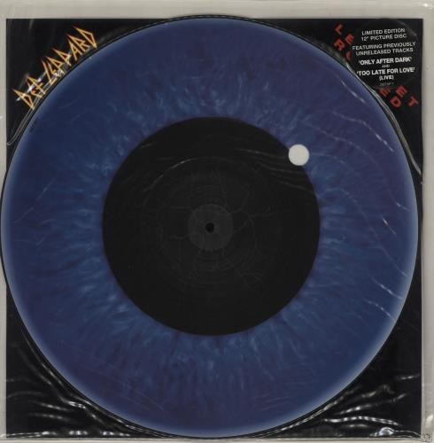 "Def Leppard Let's Get Rocked 12"" vinyl picture disc 12inch picture disc record UK DEF2PLE03960"