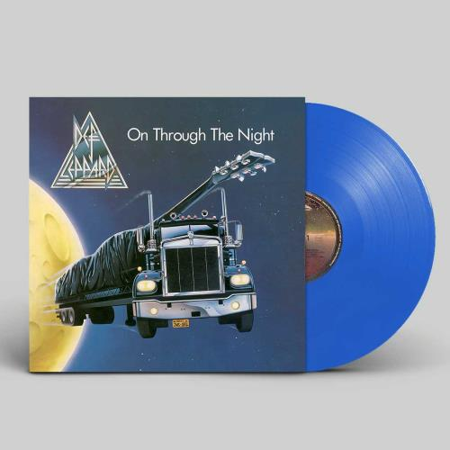 Def Leppard On Through The Night - Blue Vinyl - Sealed vinyl LP album (LP record) UK DEFLPON743209