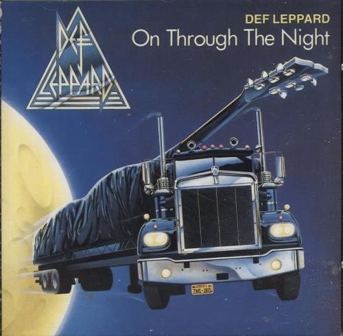 Def Leppard On Through The Night CD album (CDLP) German DEFCDON257096