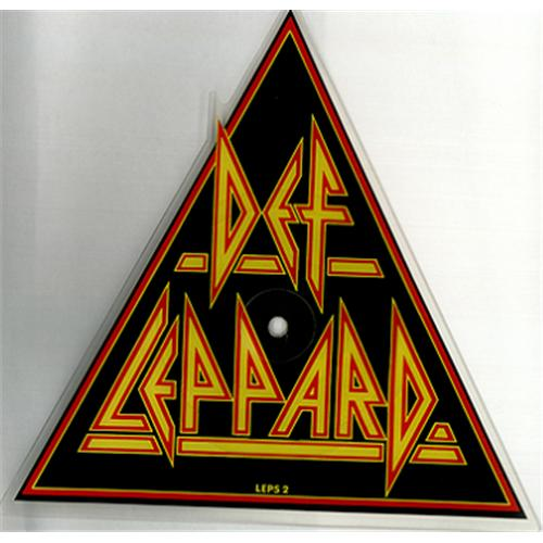 Def Leppard Pour Some Sugar On Me + Sleeve shaped picture disc (picture disc vinyl record) UK DEFSHPO00620
