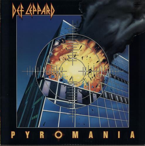Def Leppard Pyromania - RCA Music Service vinyl LP album (LP record) US DEFLPPY647743