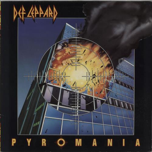 Def Leppard Pyromania vinyl LP album (LP record) Dutch DEFLPPY474603