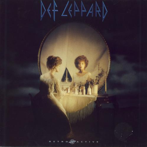 Def Leppard Retro Active - EX vinyl LP album (LP record) UK DEFLPRE602219