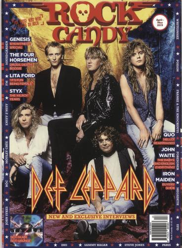 Def Leppard Rock Candy - April-May 2019 magazine UK DEFMARO736732