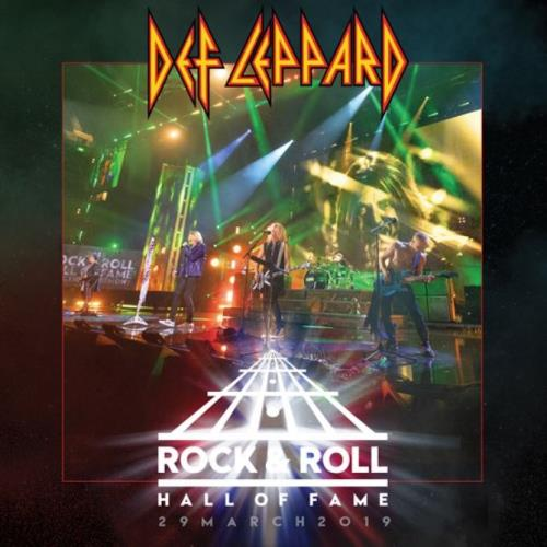 """Def Leppard Rock N Roll Hall of Fame - RSD 2020 - Sealed 12"""" vinyl single (12 inch record / Maxi-single) UK DEF12RO754864"""