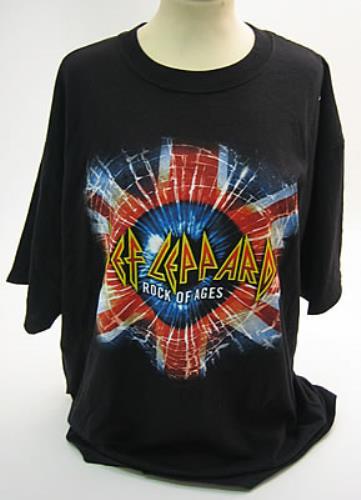 Def Leppard Rock Of Ages - Tour 2005 t-shirt US DEFTSRO370352