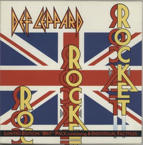 "Def Leppard Rocket - Brit Pack 7"" vinyl single (7 inch record) UK DEF07RO09090"