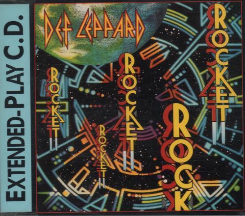 "Def Leppard Rocket CD single (CD5 / 5"") Canadian DEFC5RO274400"