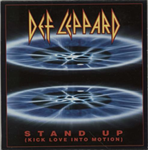 """Def Leppard Stand Up (Kick Love Into Motion) CD single (CD5 / 5"""") US DEFC5ST14653"""