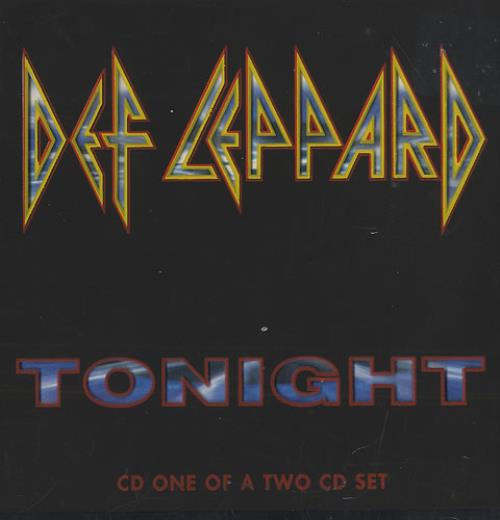 Def Leppard Tonight - Part 1 UK CD single (CD5 / 5