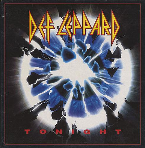 "Def Leppard Tonight CD single (CD5 / 5"") US DEFC5TO16298"