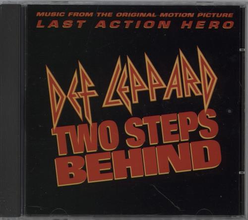 """Def Leppard Two Steps Behind CD single (CD5 / 5"""") US DEFC5TW21365"""