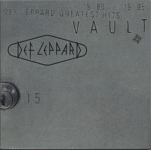 Def Leppard Vault - Greatest Hits 1980-1995 2-LP vinyl record set (Double Album) UK DEF2LVA324198