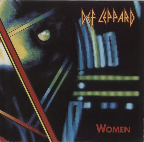 "Def Leppard Women 7"" vinyl single (7 inch record) US DEF07WO31096"