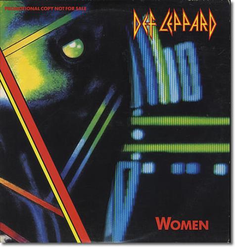 "Def Leppard Women 12"" vinyl single (12 inch record / Maxi-single) US DEF12WO00625"