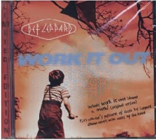 "Def Leppard Work It Out + Postcards CD single (CD5 / 5"") UK DEFC5WO68233"