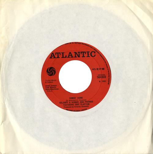 "Delaney & Bonnie Comin' Home - Wide 7"" vinyl single (7 inch record) UK D&B07CO116008"