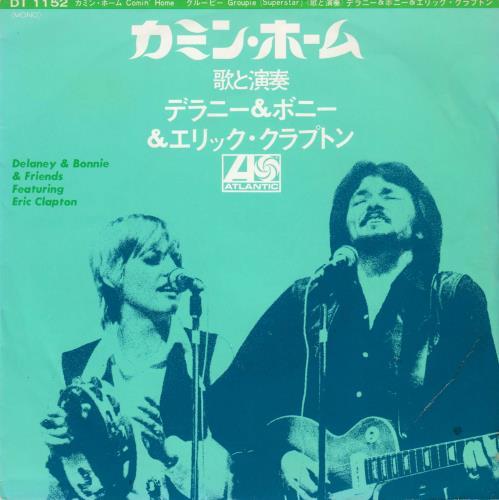 "Delaney & Bonnie Comin' Home 7"" vinyl single (7 inch record) Japanese D&B07CO715114"