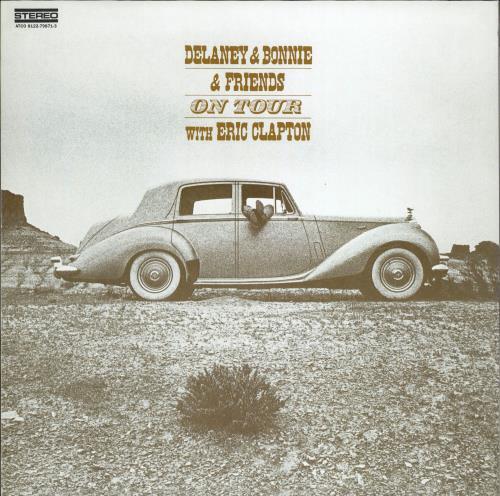 Delaney & Bonnie On Tour With Eric Clapton vinyl LP album (LP record) UK D&BLPON769075