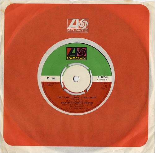 "Delaney & Bonnie They Call It Rock & Roll Music 7"" vinyl single (7 inch record) UK D&B07TH480049"
