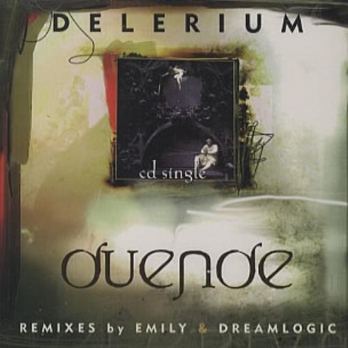 "Delerium Duende CD single (CD5 / 5"") US ELRC5DU278770"