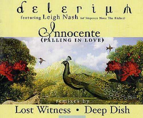"""Delerium Innocente (Falling In Love) CD single (CD5 / 5"""") UK ELRC5IN295500"""