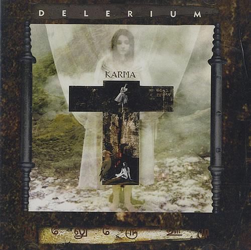 Delerium Karma 2 CD album set (Double CD) UK ELR2CKA434988